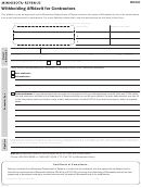 Form Ic134 - Withholding Affidavit For Contractors