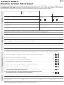 Form M4r - Minnesota Business Activity Report