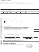 Form M500 - Jobz Tax Benefit Report - 2012