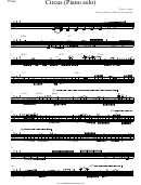 Dirty Loops - Circus Piano Solo Sheet Music