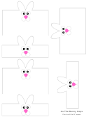 Bunny Candy Wrappers Template