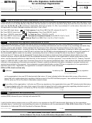 Form 8879-eo - Irs E-file Signature Authorization For An Exempt Organization - 2013
