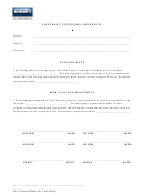 Contract Extension Addendum Template - Coldwell Banker, St. Croix Realty
