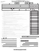 Form Urt-1 - Indiana Utility Receipts Tax Return - 2012