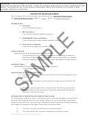 Sample Contract For Construction Work Template