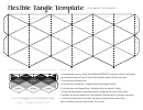 Flexible Tangle Template
