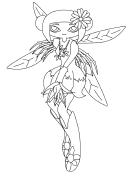 Fantasy Fairy Coloring Sheet