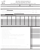 Form 303 - Recycling Equipment Tax Credit - 2014