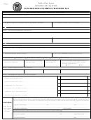 Form Citt-1 - Controlling Interest Transfer Tax