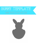 Bunny Silhouette Template
