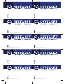 Business Card Templates - Nebraska Department Of Education