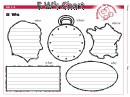 5 W's Chart Graphic Organizer Template