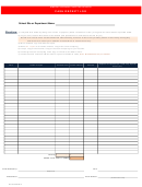 Cash Receipt Log Template - Empire Springs Charter School