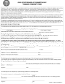 Tanning Consent Forms - Ohio State Board Of Cosmetology