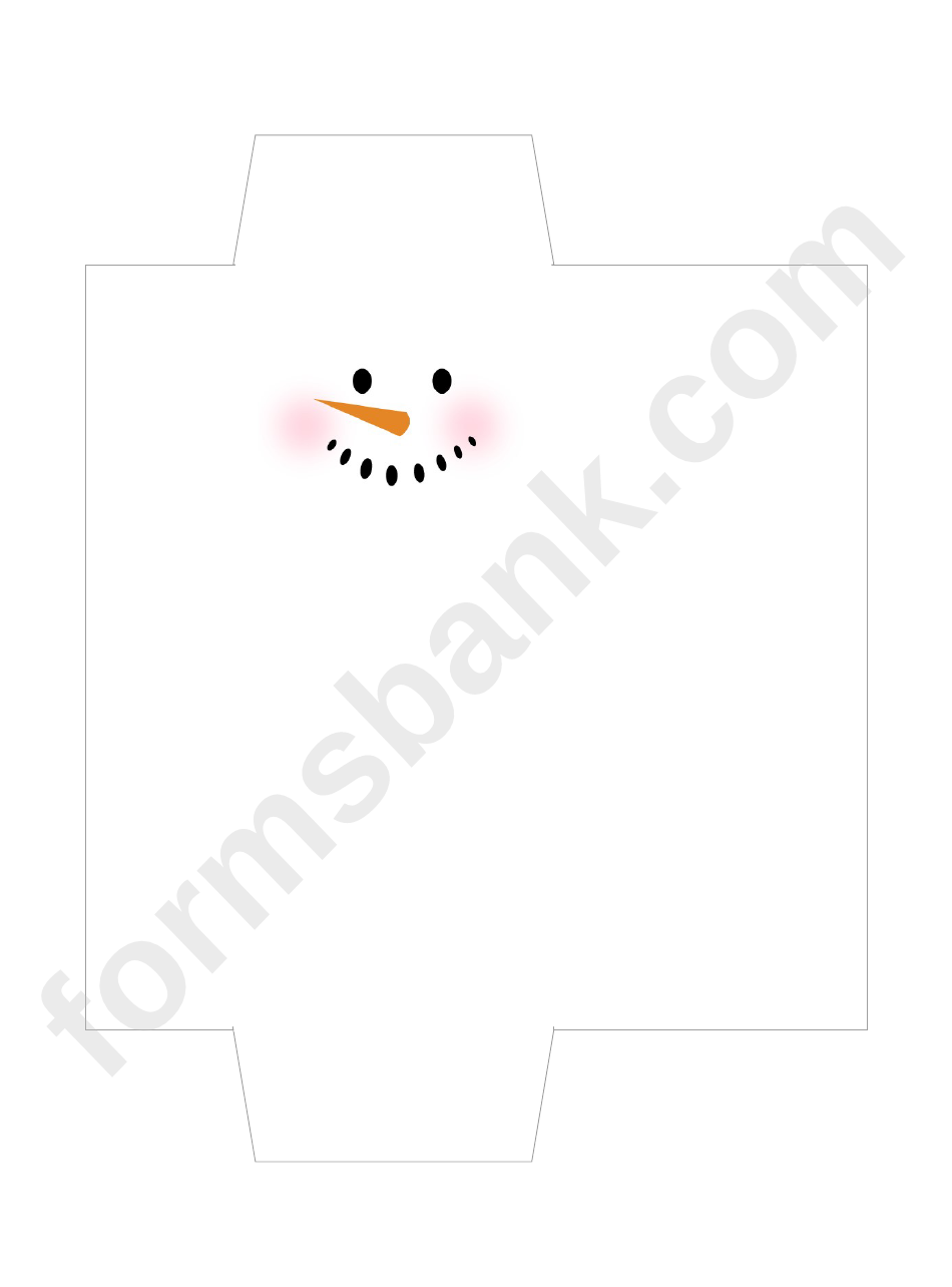 snowman candy bar wrapper template printable pdf download