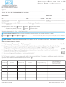 Form G-app-36010 Vt - Life Insurance Application Form - Group Term Life Insurance
