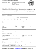 Mississippi New Hire Reporting Form