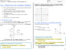 Precalculus - Chapter 6 Trigonometry Worksheet With Answers