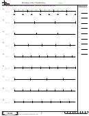 Dividing With A Numberline Worksheet With Answers