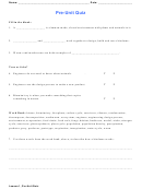 Biology Worksheet