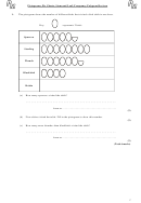 Pictograms, Pie Charts, Stem And Leaf, Frequency Polygons Revison Worksheet