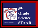 Grade Science Staar Worksheet - 8th Grade