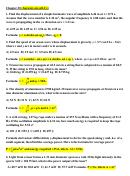 Physics Worksheet - Georgia State University