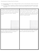 Writing Equations In Standard Form Word Problems Worksheet