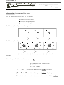 Structure Of The Atom Worksheet With Answer Key