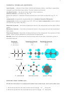 Chemical Formula Worksheet With Answers