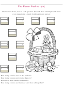 The Easter Basket Mixed Review Worksheet With Answer Key