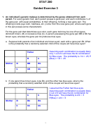 Statistics Worksheet With Answers - Stat 200