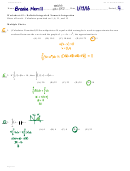Definite Integrals & Numeric Integration Worksheet With Answers - Calculus Maximus Ws 4.2