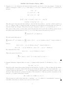 Math 115a Number Theory Worksheet With Answers, Hw4