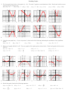 Sketching Graphs Worksheet