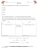 Intro To Percent Worksheet