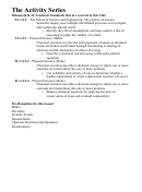 The Nature Of Science And Engineering, Physical Science Worksheet With Answers - Minnesota K-12