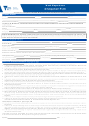 Work Experience Arrangement Form - Victoria State Government