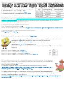 Bikini Bottom Genetics 2 printable pdf download