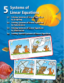 Systems Of Linear Equations Worksheets With Answer Key