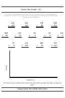 Easter Bar Graph (e) Worksheet With Answer Key