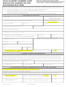 Form Dhmh-4758 - Star Academy Summer Camp Medication Administration Authorization Form