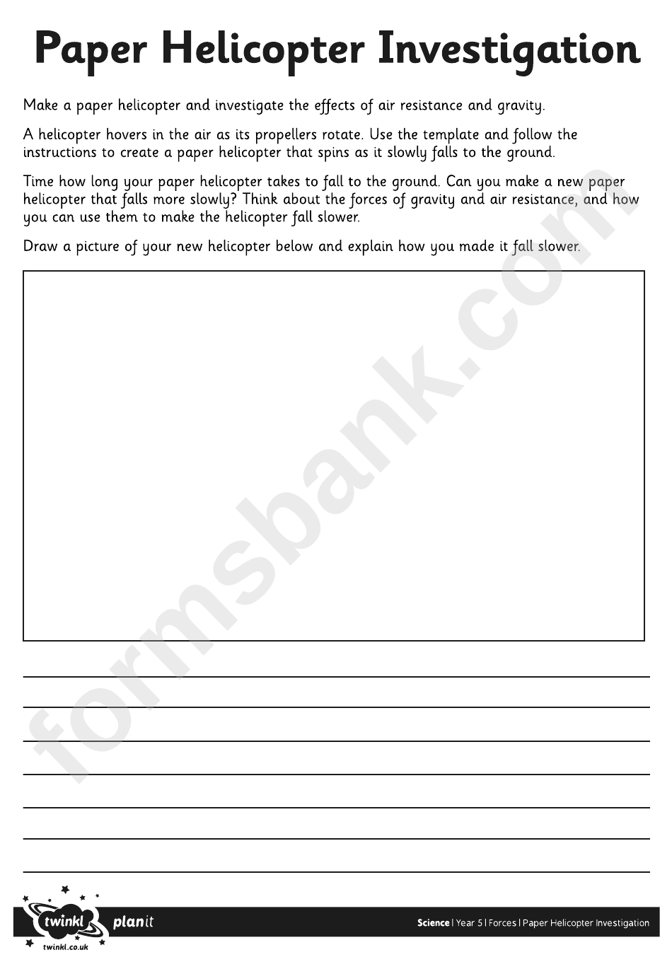 paper helicopter template printable pdf download