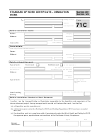 Form 71c - Standard Of Work Certificate Demolition Work - Tasmanian Government He Department Of Justice