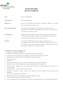 Manager Job Description Template - Girl Scouts Of Central And Southern Nj