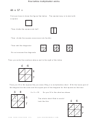 Lattice Multiplication Worksheet