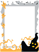 Ghosts Page Border Templates
