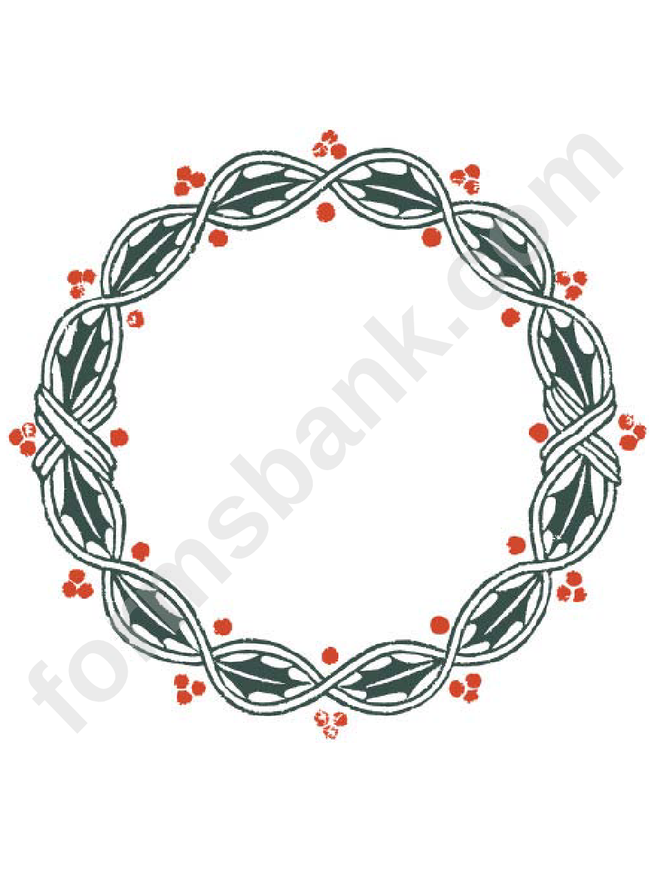 Ivy Page Border Templates