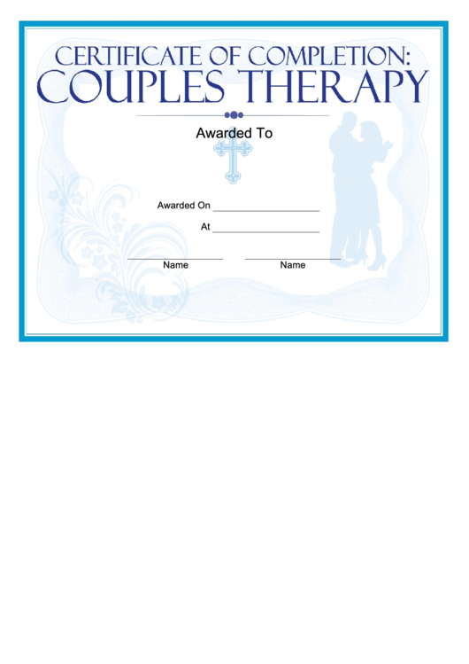 religious certificate templates religious couples therapy