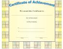 Pre-calculus Achievement